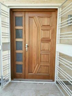 Praveen 2 Door Gate Design Wooden Doors Wood Front
