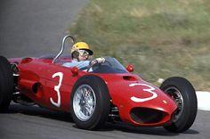 Ricardo Rodriquez . .1962 Zandvoort , Ferrari 156