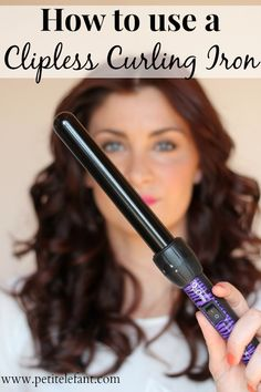 5 Curling Wand Tutorials to Prevent You From Burning Your Fingerprint Off --- round up of tutorials and posts to help you use a curling wand!