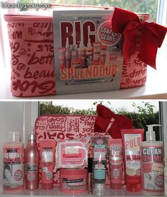 Last week, Boots announced a super saver offer on Soap & Glory products. For one week only, the Soap & Glory Big Splendour gift set, containing the