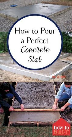 How to Pour Concrete Tips and Tricks for Pouring Concrete Simply Pour Concrete Simple Ways to Pour Concrete Home Improvement Home Improvement Projects Simple DIY Projects Home Renovation, Home Remodeling, Home Improvement Loans, Home Improvement Projects, Home Improvements, Diy Videos, Porches, Concrete Driveways, Walkways