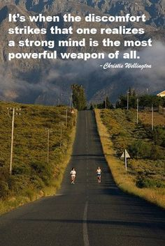 I'm sure that I'm going to need to remember this at some point during training - especially if I am going to be running the 'undulating' course of Marathon du Medoc Sport Motivation, Triathlon Motivation, Marathon Motivation, Fitness Motivation, Triathlon Training, Half Marathon Training, Ironman Triathlon, Marathon Running, Running Training