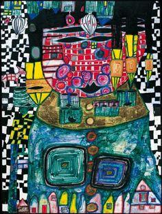 Antipode King- Hundertwasser