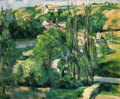 Cote du Galet, at Pontoise, 1880, Paul Cezanne