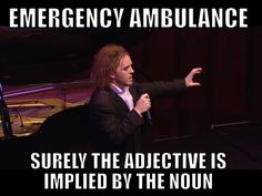Tim Minchin. Delivering truth bombs.