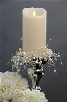 Perla Diamante Efecto de Cristal Boda Ramo de flores decoraciones Aerosoles Corsage
