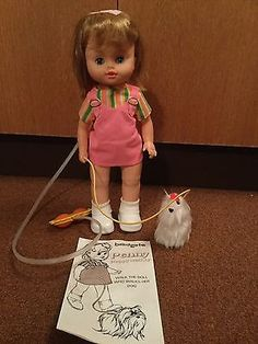 Bradgate Penny Puppy Walker Vintage 1970s Animated Doll & Instructions in Toys & Games, Vintage & Classic Toys, Other Vintage & Classic Toys | eBay!