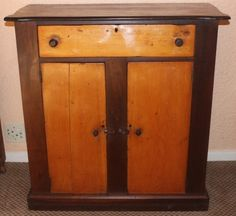 Antique Cape Cottage Yellowood And Stinkwood Cabinet - R5,950.00 | Southern Suburbs | Antique Furniture | 68010030 | Junk Mail Classifieds