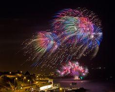 An impressive display in Plymouth, Devon    Christine Matthews of London