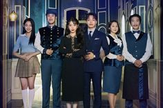 """""""Hotel Del Luna"""" Cast Welcomes Viewers In First Official Group Poster Second Season, Season 2, Hau Due Mat Troi, Kdrama, Groups Poster, Jin Goo, Drama Fever, Haunted Hotel, Das Hotel"""