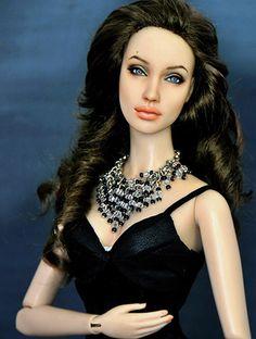 Angelina Jolie Doll