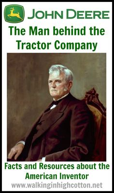"John Deere, the Man Behind the Tractor Company. An American Inventor from the who developed the ""Plow that Broke the Plains."" A list of video and book resources to study John Deere, the man. via Walking in High Cotton Funny Senior Pictures, Senior Pictures Sports, List Of Resources, Learning Resources, Pictures With Horses, Reluctant Readers, Teaching Reading, Reading Activities, Senior Picture Outfits"