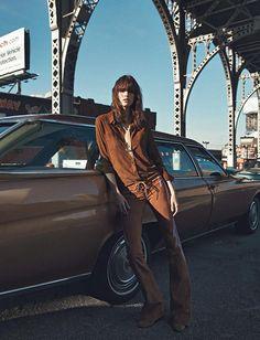 os Achados |Moda | Editorial |  70's by Vogue Paris
