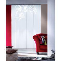 panneau japonais jour nuit inspire blanc 250 x 50 cm. Black Bedroom Furniture Sets. Home Design Ideas