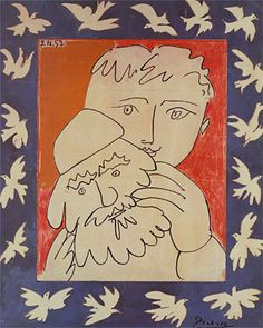 New Year By Picasso 1953 Happy New Year 02007 Read This
