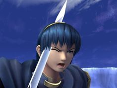 Looks like Marth has...a splitting headache. >:3