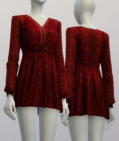 S4 _RED Leopard Dress By Michael Kors (4 Color) : 네이버 블로그