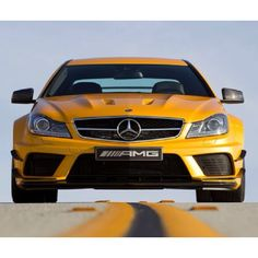 The @Mercedes-Benz USA  C63 AMG is awesome in orange!