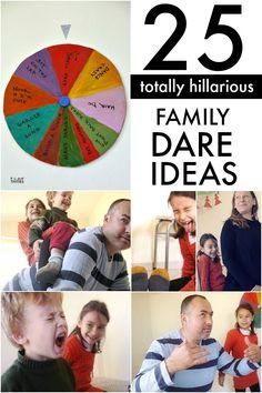 Hilarious family dare ideas that need minimal prep