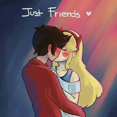 Just friends by Whatsernnamee on DeviantArt Cute Comics, Funny Comics, Star E Marco, Starco Comics, Fille Anime Cool, Star Butterfly, Star Vs The Forces Of Evil, Just Friends, Force Of Evil