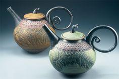 Beautiful Suzanne Crane pottery.