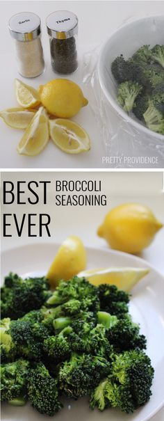 Best Broccoli Seasoning EVER! I am serious, anything that can get me to actually enjoy a vegetable is a major win... it's amazing!