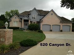 AMAZING CUSTOM DESIGNED HOME ON THE 18TH FAIRWAY OF THE LAWRENCE COUNTRY CLUB! This immaculate home has it all, NEW ROOF, FRESHLY PAINTED, GRANITE CTRTOPS AND BRONZE FINISHES! Enjoy breakfast watching the sun rise thru gorgeous row of windows facing the east! Impressive views, High Ceilings, Main Floor Master, Formal Dining, Hearth Room & Breakfast nook. Walkout basement has family room & wet bar ready for entertaining. Walk out onto the Fairway. 5bdr/office, ba & lots of storage…