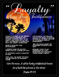 good and evil and loyalty Exodus 17:1-7 and the whole book of job characterize suffering as testing and speak of god's right to test human loyalty it was good evil is.