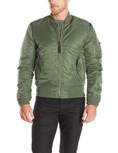 8fc8ab5f7af6 Alpha Industries Men s MA-1 Slim Fit Flight Bomber Jacket at Amazon Men s  Clothing store
