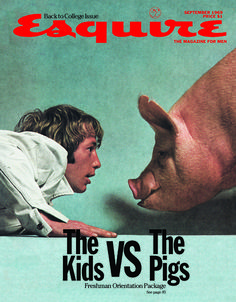 Esquire Magazine - The Kids VS The Pigs (September 1969)