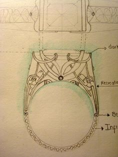 Jewelry Design/Drawing/Crafting