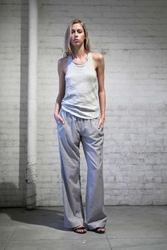 Gray. Slouchy. Loose. Relaxed. Priory of Ten. Spring/Summer 2014.