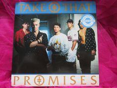 Take That – Promises RCA – PB 45085 Vinyl UK 7 inch 45 single
