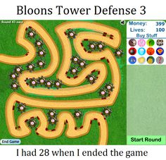 Bloons Tower Defense 3 unblocked | Flash games | Pinterest ...