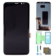 Premium Quality LCD Screen and Digitizer Full Assembly for Blackview S6 Black Color : Gold