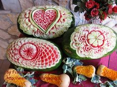 A whole new meaning to playing with your food, these are stunning