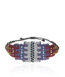 ZOE KOMPITSI Silver Aztec Bracelet < NEW