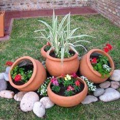 Néha csak egy jó ötlet kell ahhoz, hogy a kert gyönyörű legyen.