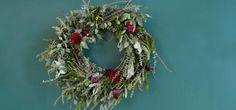 Wire Wreath Ideas: One Merry, Modern Wreath   CB2 Blog