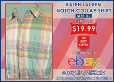 RALPH LAUREN TOP VINTAGE HOLLYWOOD NOTCH COLLAR SHIRT Pink XL 100% Cotton.  BUY IT NOW! : http://ebay.to/2fERxlv  #ebay #fashion #shopping #mens #ralphlauren #save #deals #bargains #vintage #gifts #giftideas #unique #rare #notchcolllar #cotton #giftsforhim #forsale #love #TagsForLikes #amazing #smile #follow4follow #like4like #look #instalike #igers #picoftheday #instadaily #instafollow #followme #girl #colorful #style #swag
