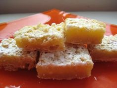 Gluten free lemon bars!