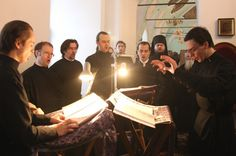 Many men may not love church, but Orthodox men do.