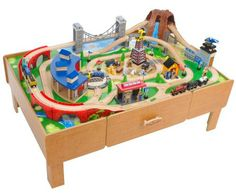 Thomas Train Table u003cbu003eLayoutu003c/bu003e Plans Plans Free Download |  sc 1 st  Pinterest & this Thomas the Train table top would look better at home instead of ...