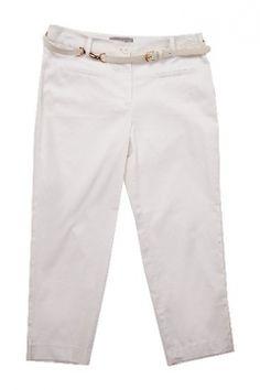 Capri with belt Summer 2014, Bermuda Shorts, Capri, Khaki Pants, Women Wear, Belt, Fashion, Belts, Moda