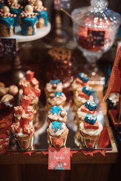 Christmas Baptism nutcracker candy bar -Χριστουγεννίατικη Βάπτιση στην Αθήνα καρυοθραύστης candy bar Christening Decorations, Breakfast, Cake, Desserts, Food, Morning Coffee, Tailgate Desserts, Deserts, Baptism Decorations