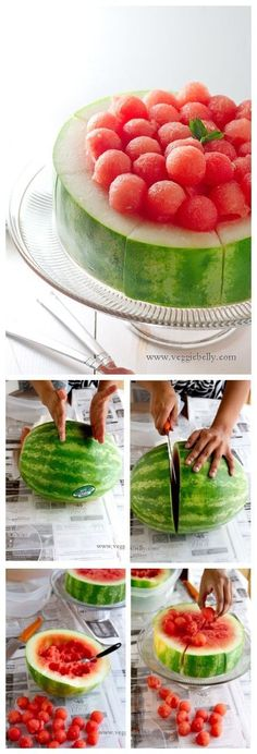 Lanches criativos e refrescantes com melancia | Macetes de Mãe