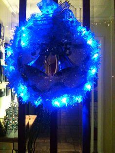 a 'night light'. Blue Christmas, Merry Christmas, Night Light, Winter, Decor, Merry Little Christmas, Winter Time, Decoration, Wish You Merry Christmas