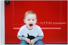 2 yrs old, little boy, fall, Pittsburgh, red door