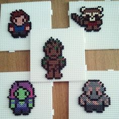 Guardians of the Galaxy hama beads by squirrol