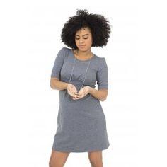 Mini dress premaman in tessuto felpa linea premaman flasy maternity